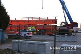 Man valt 5 meter omlaag GS Staalservice Beringe industrieterein