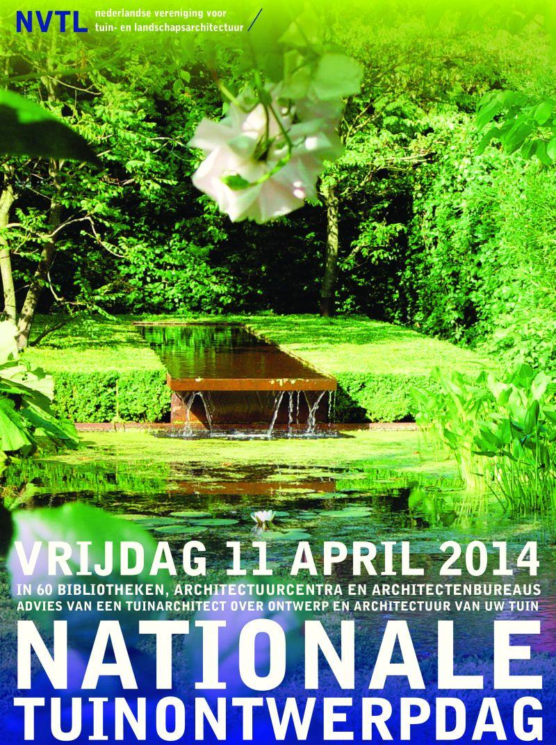 Nationale Tuinontwerpdag 2014