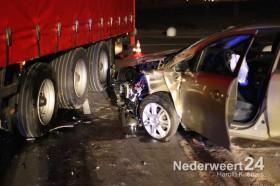 Ongeval vrachtwagen auto Dr Anton Philipsweg Weert