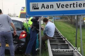 Ongeval Randweg Zuid Nederweert voor stoplicht