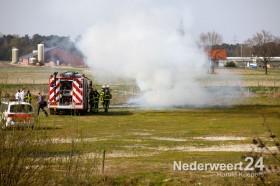 Afvalbrand Watermolenweg Swartbroek
