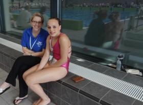 Alice Winkelmolen -NJK Synchroonzwemmen