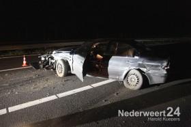 Eenzijdig ongeval A2 tussen Kelpen-Oler en Grathem