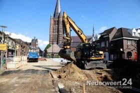Voortgang herinrichting Kerkstraat Nederweert