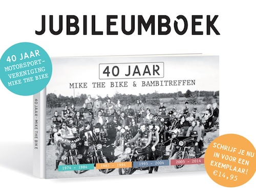 MSV Mike the Bike brengt Jubileumboek uit
