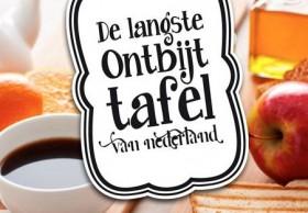Langste ontbijttafel van Nederland2