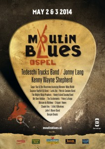 Moulin Blues Poster2014