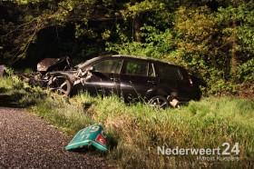 Ongeval A2 Kelpen-Oler vrachtwagen met auto 8