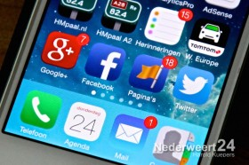 Sociale media iphone