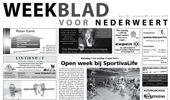 Weekblad nr 14