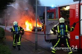 Autobrand Buizerdstraat Ospel