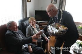 bruidspaar Jacobs-van de Moosdijk Ospel