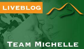 Team Michelle Live op Alpe d' Huzes