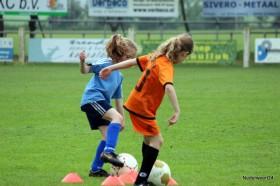 Voetbal clinic bij Eindse Boys