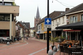 Nieuwe rijrichting in de Kerkstraat