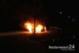 Autobrand Florisstraat Weert