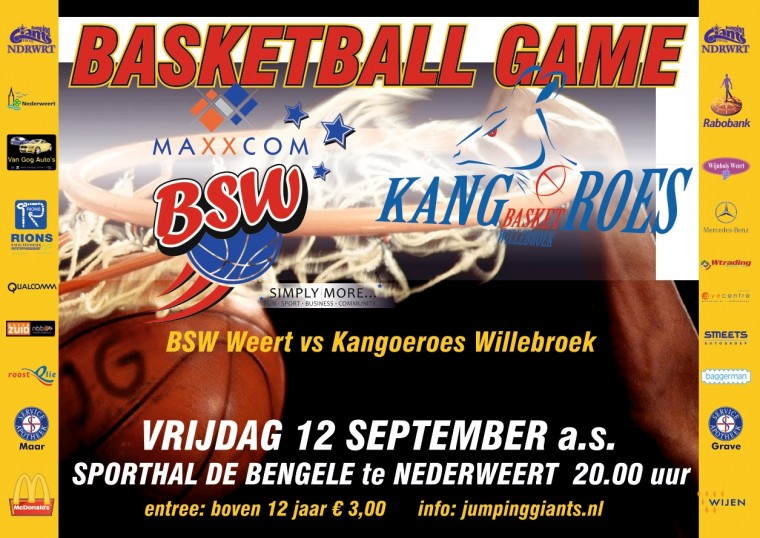 BSW Weert - Kangoeroes Willebroek