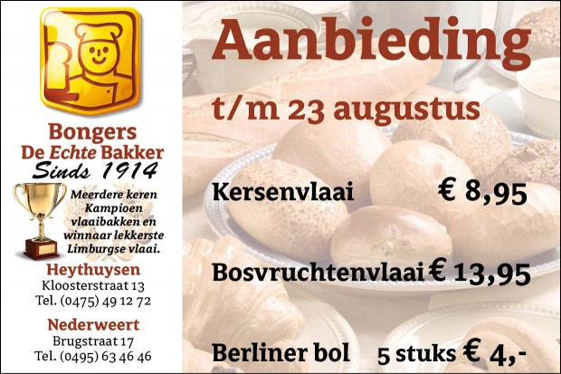 Bakker Bongers wk 34