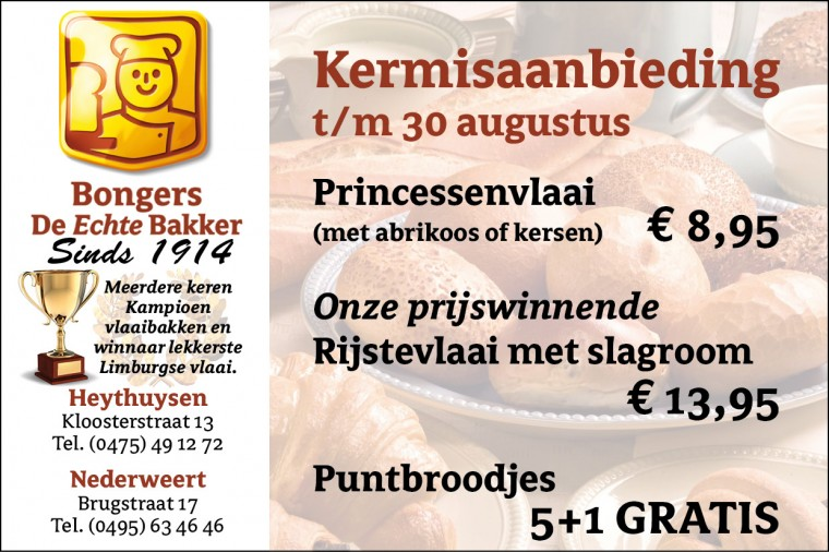 Bakker Bongers wk 35