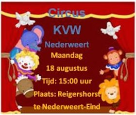 Circus KinderVakantieWerk Nederweert-Eind