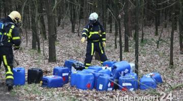 Drugs-jerrycans gedumpt in Roggel