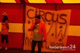 Opening KVW Nederweert in Nederweert Eind en nat pak Hubert Mackus