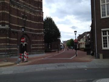Kerkstraat bord