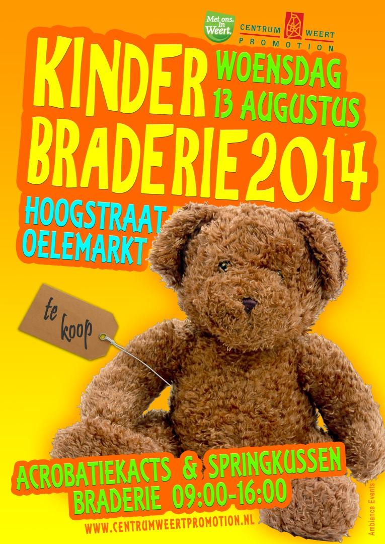Kinderbraderie 2014 poster (Large)