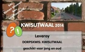 Kwisutwaal 2014 Leveroy