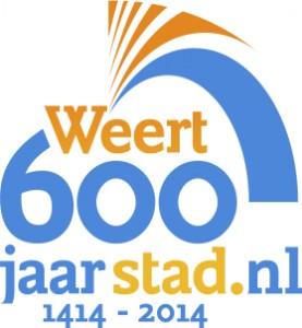 Logo Weert 600 jaar stad