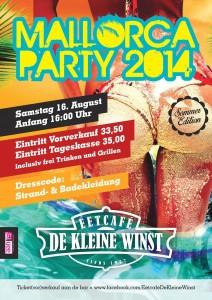 Mallorca party DKW