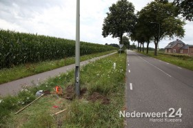 Ongeval Ospelsseweg Keryelmusweg Nederweert door onbekende