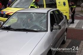 Ongeval fietser kruising Langstraat Wilhelminasingel Weert