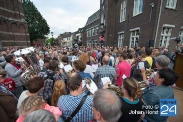 Opening Kerkstraat Nederweert