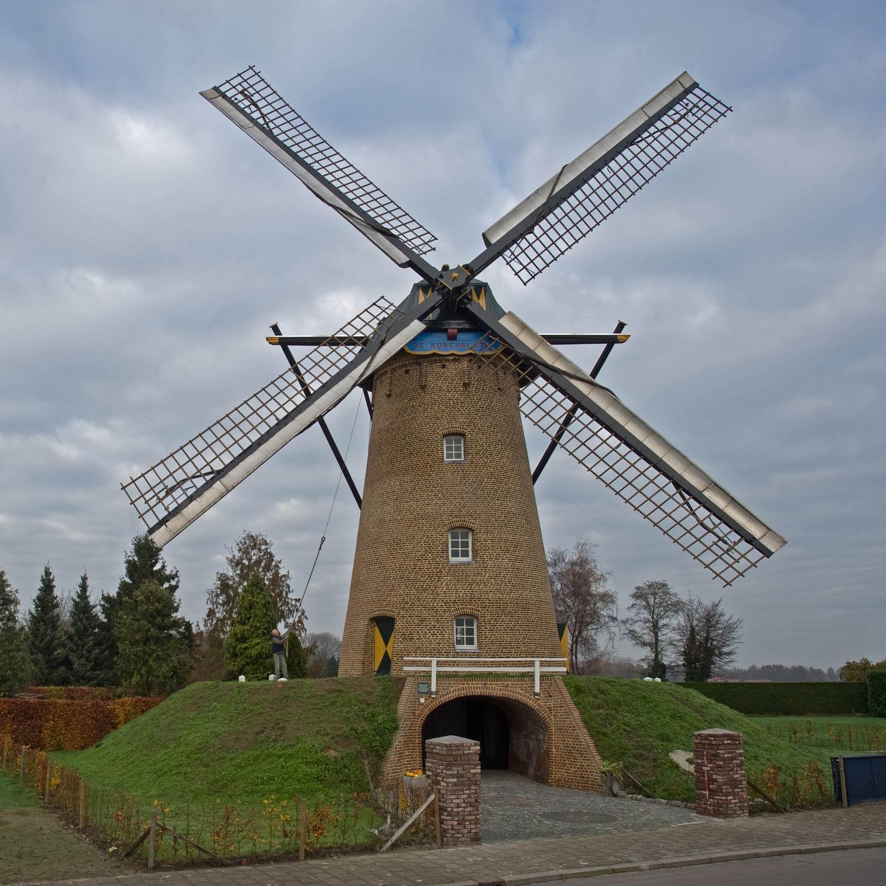 molen de Korenbloem Ospel