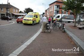 Vrouw gevallen met fiets Ospelseweg Nederweert