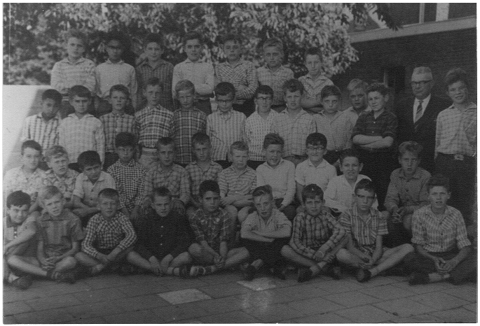 6de klas lambertus school 1961