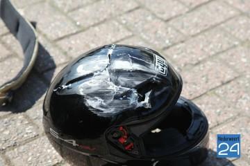 Ongeval Molenakkerdreef Weert. Motor auto