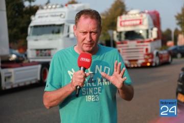 Piet weerbericht, truckrun