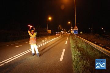 afsluiting Randweg brug nederweert