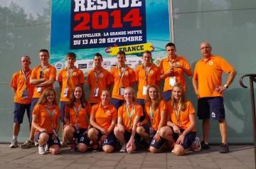 Vera Moonen WK Rescue 2014