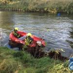 vaten xtc in Zuid-Willemsvaart boot brandweer