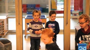 Basisschool De Tweesprong eerste les dag nieuwe school 2