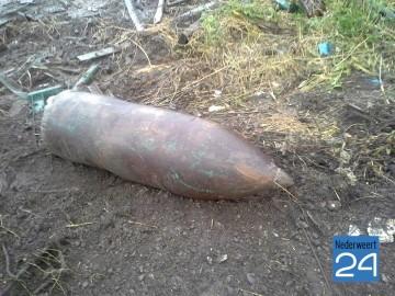Bom gevonden in Franeker tijdens bouw waterzuiveringsinstallatie