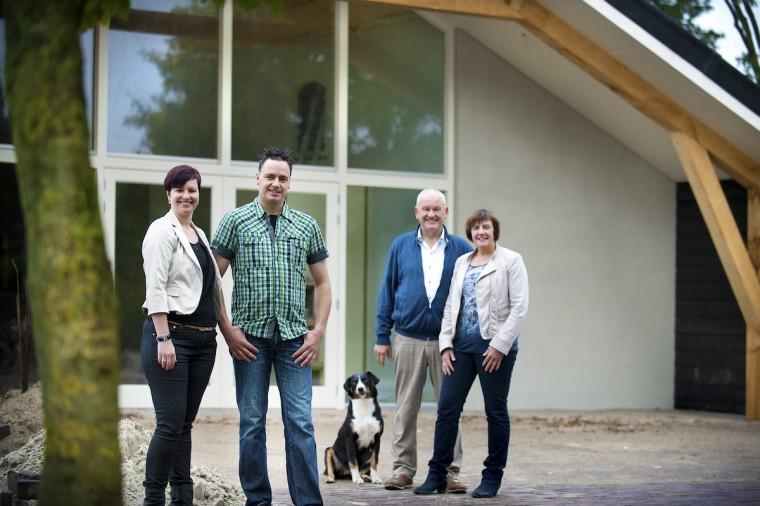 Familie Van Leeuwen etaleert