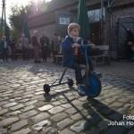 Eynderhoof Nederweert-Eind kind op fiets