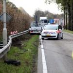 Ongeval Venloseweg Nederweert politieauto