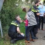 Ongeval Venloseweg Nederweert knuffel politie