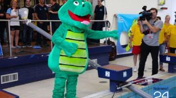 Spieren voor Spieren actie bij Sportcentrum Laco Nederweert krokodil