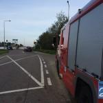 Vaten XTC in Zuid-Willemsvaart brandweerwagen